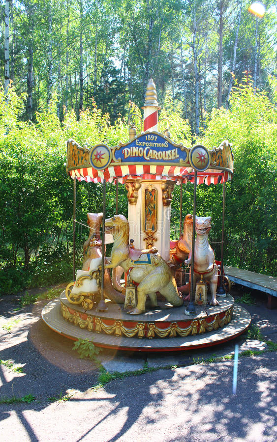 Free Old Carousel Royalty Free Stock Image - 58123596