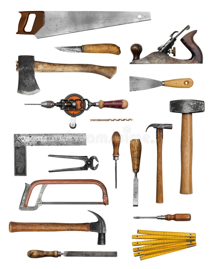 Free Old Carpenter Hand Tools Stock Photos - 43394833
