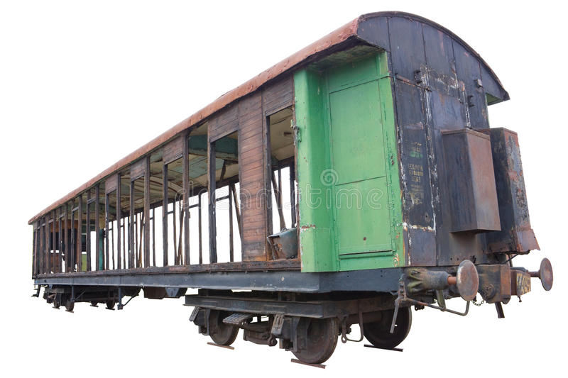 The old carriage stock image
