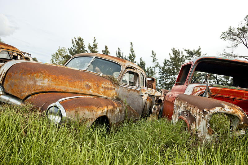 Download Old cars stock photo. Image of noatlgic, ailing, rust - 35610256
