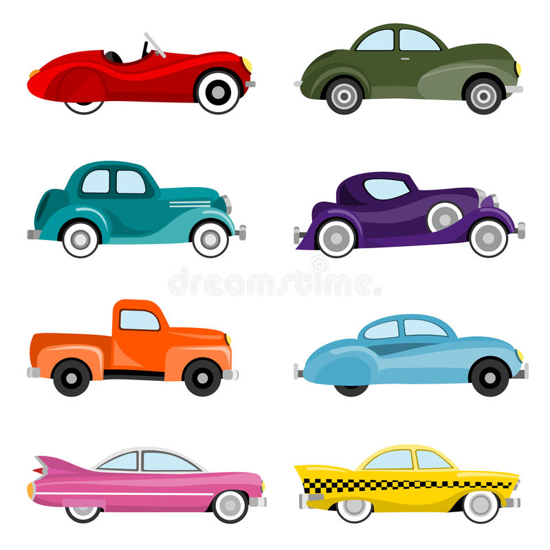 Free Old Cars Vector Royalty Free Stock Photography - 10325407