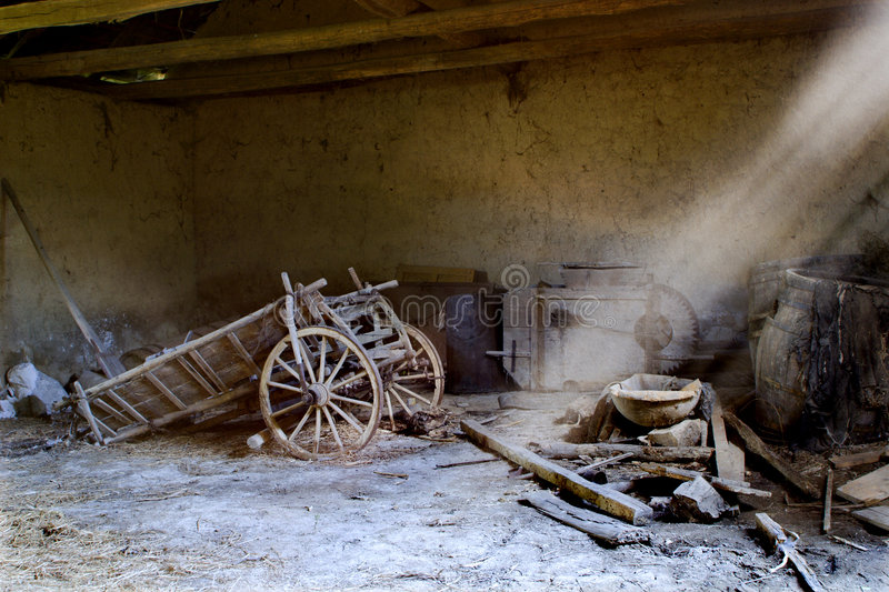 Download Old Cart Stock Photo - Image: 7296720