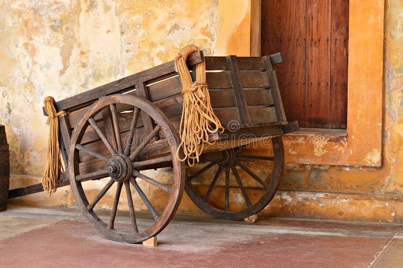 Old Cart stock images