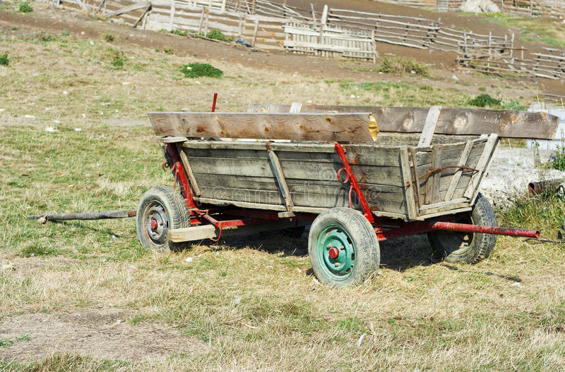 Download Old cart, raw stock photo. Image of farm, shabby, wooden - 21594622