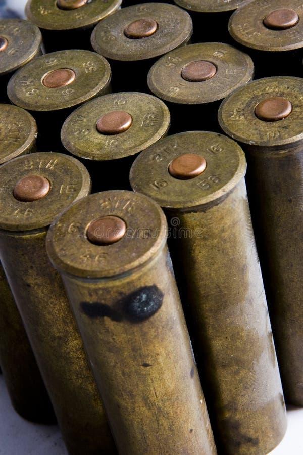 Download Old cartridges for shotgun stock image. Image of white - 6744085