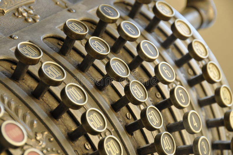 Download Old Cash Register Royalty Free Stock Images - Image: 10984799
