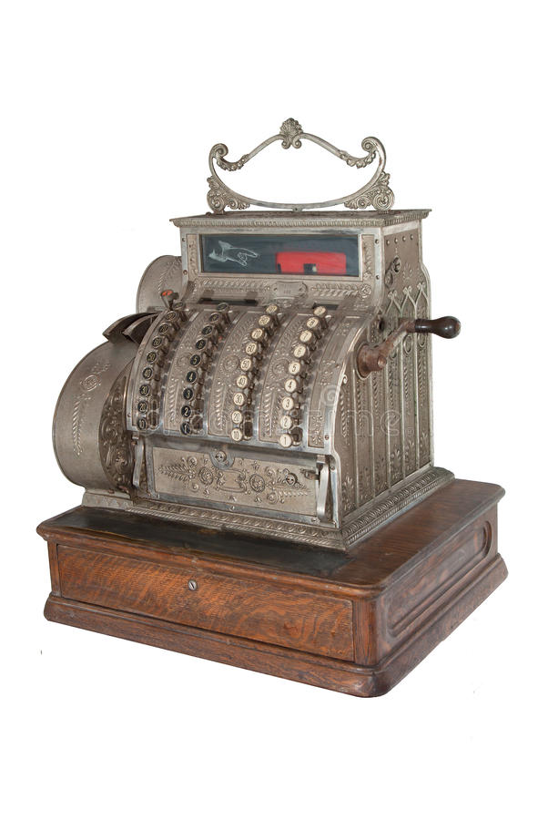 Download Old cash register stock photo. Image of counter, collector - 19928446