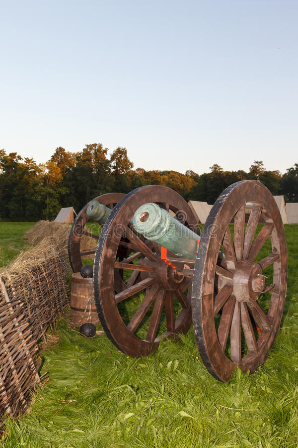 Download Old Cast-iron Cannon Stock Photography - Image: 26753922