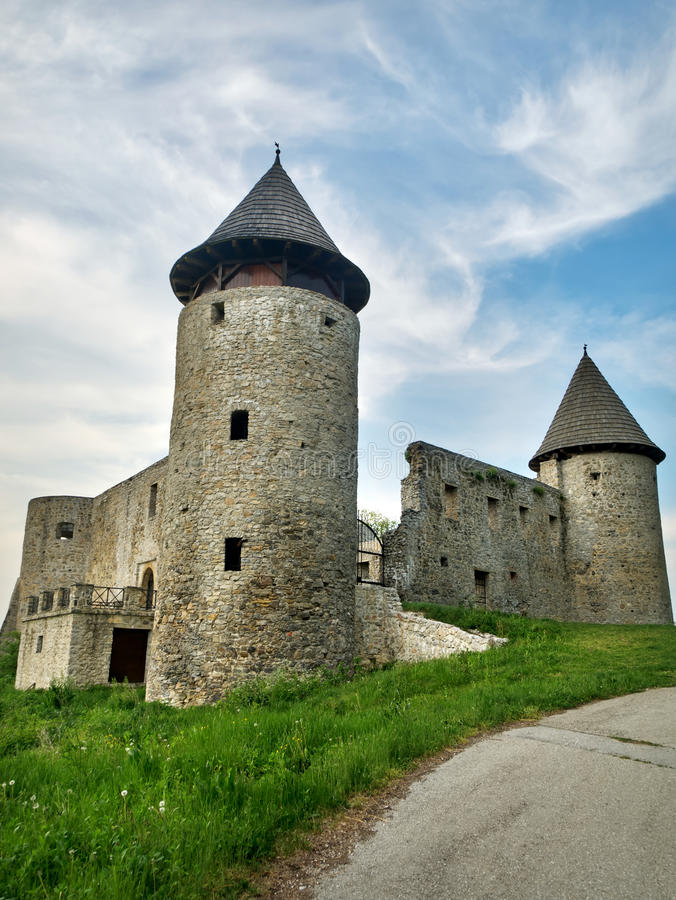 Download An old castle stock photo. Image of mountain, building - 19713752