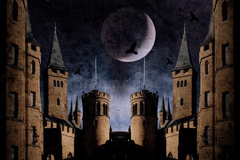 Download Old castle stock illustration. Illustration of building - 21829176