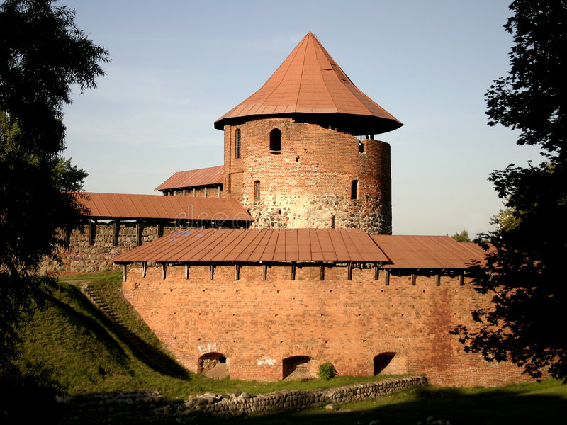 Old castle stock image