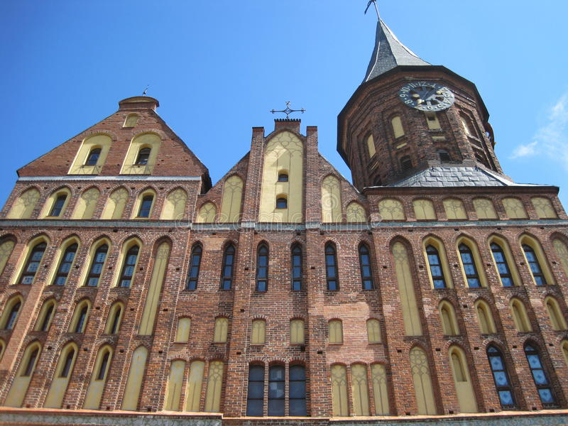 Download The old castle stock illustration. Image of europe, kaliningrad - 25769374