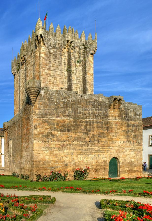 Old castle of Chaves. North of Portugal royalty free stock photography