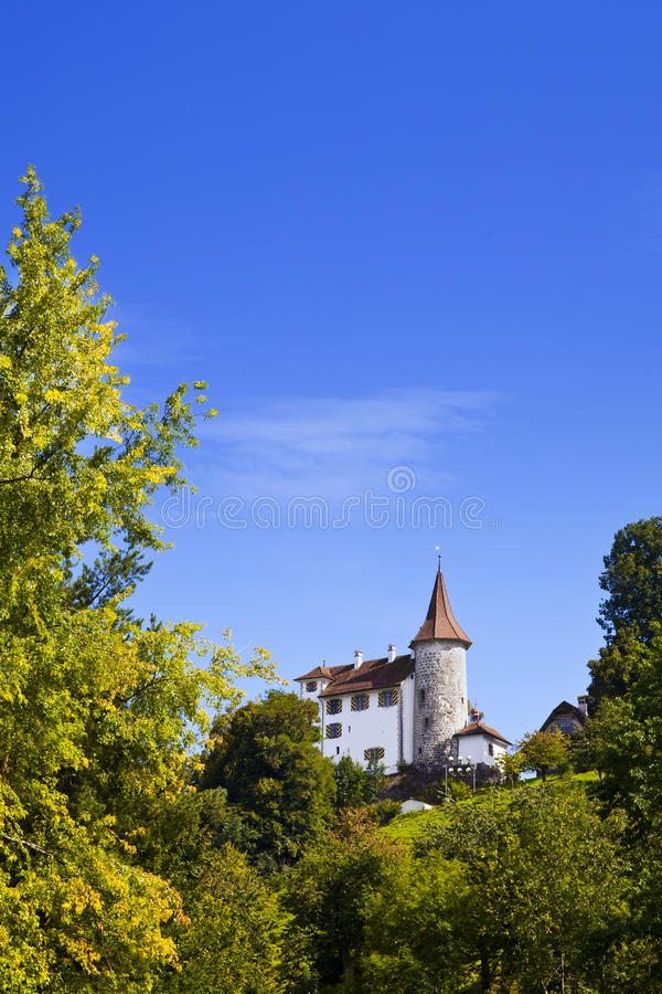 Download Old Castle In The City Of Kriens, Lucerne Royalty Free Stock Photos - Image: 21065888