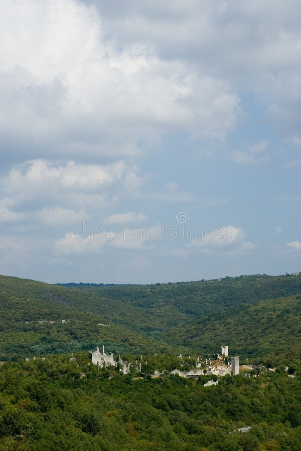 Download Old Castle In Croatia Forest Stock Photos - Image: 1473243