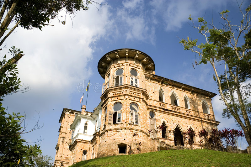 Old Castle On Hilltop Royalty Free Stock Photo