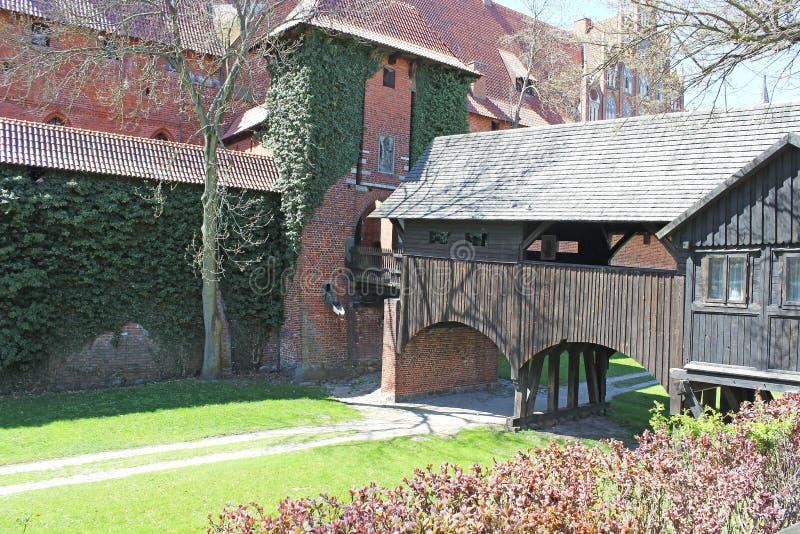 Download Old Castle In Malbork / Marienburg. Poland Stock Photo - Image of polish, grass: 30835066