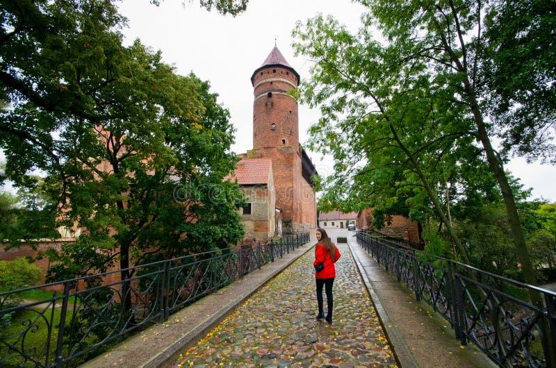 Old castle in Olsztyn, Poland. Old castle in Olsztyn - Poland stock photography