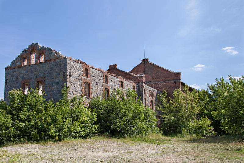Download Old castle ruin stock photo. Image of damaged, history - 25508792