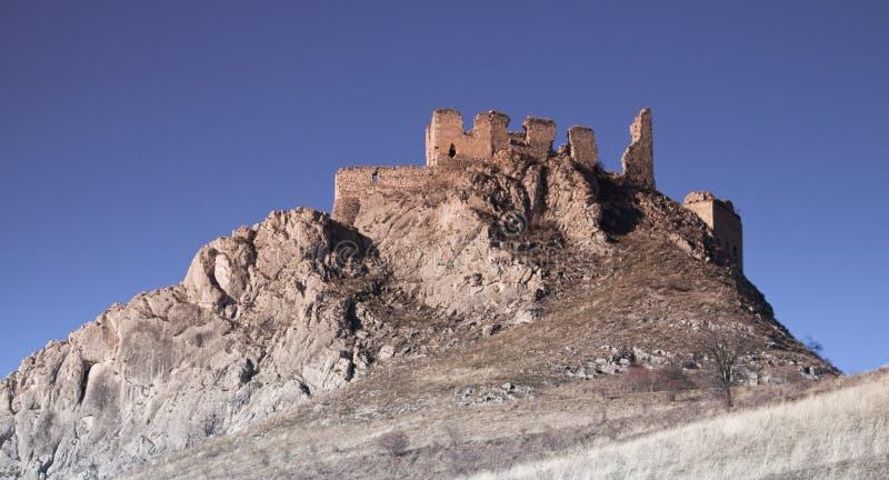 Old castle ruins stock photos