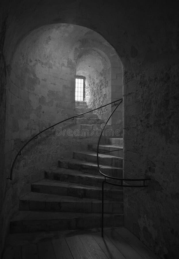 Download Old castle steps stock image. Image of block, ghostly - 20729061
