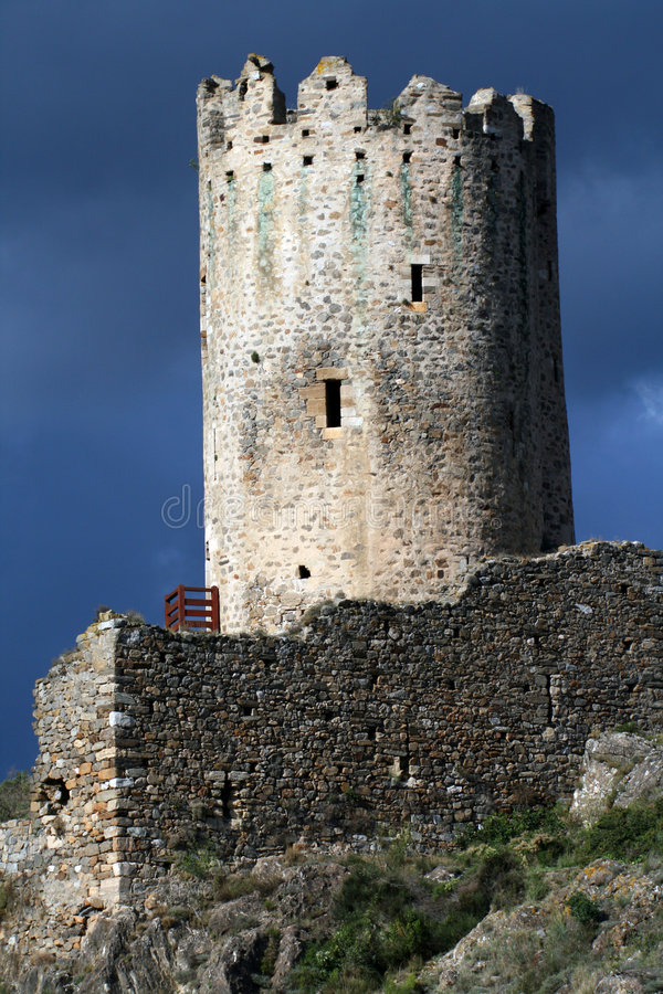 Download Old castle tower stock photo. Image of medieval, king - 1319856