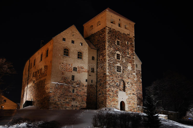 Download Old castle of Turku stock photo. Image of tale, town - 13186254