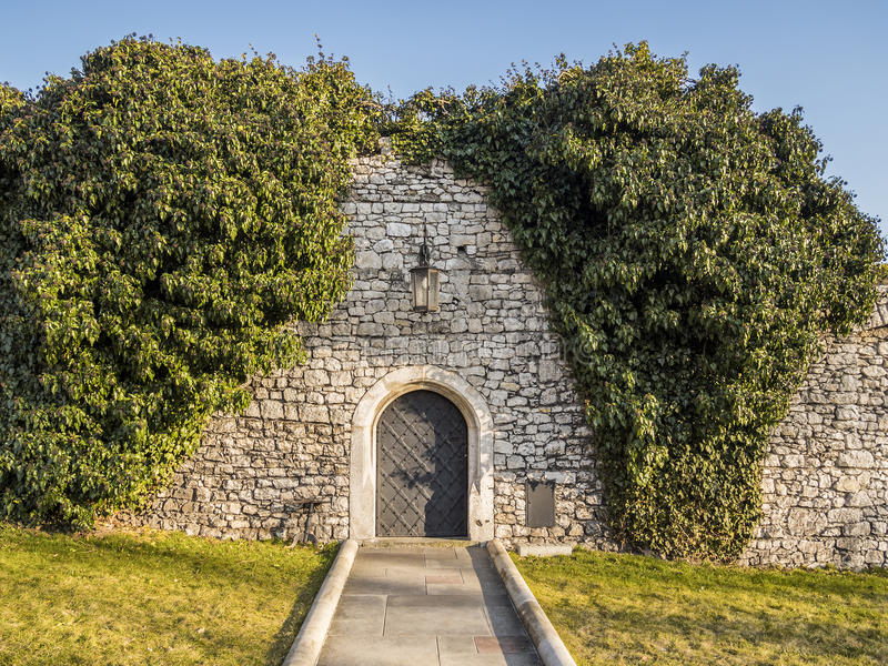 Download Old castle wall and doors stock photo. Image of exterior - 53371330 & Old castle wall and doors stock photo. Image of exterior - 53371330