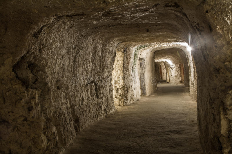 Download Old Catacomb stock photo. Image of faith, deep, beliefs - 36435822
