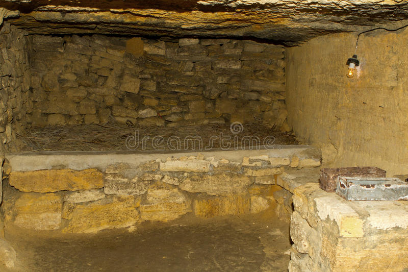 Download Old Catacombs Odessa stock image. Image of natural, earth - 41919609