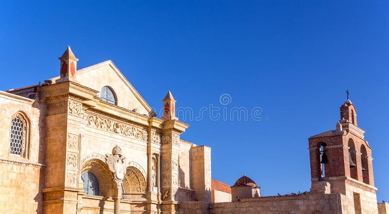 Old cathedral of Santo Domingo. Old cathedral in Santo Domingo, Dominican Republic royalty free stock photography