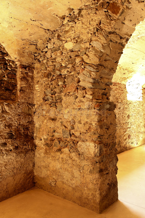 Old cave,arch royalty free stock photography