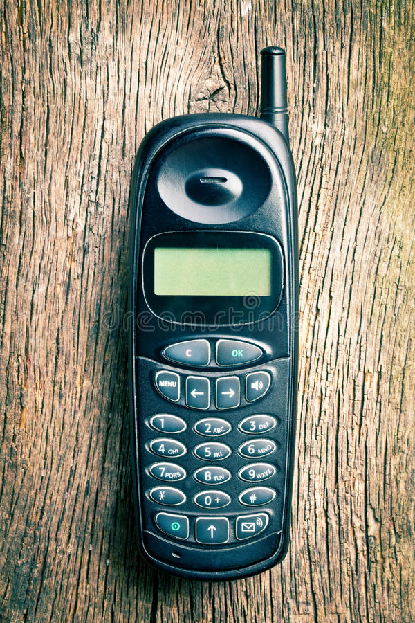 Download Old cell phone stock illustration. Image of phone, keypad - 26299987