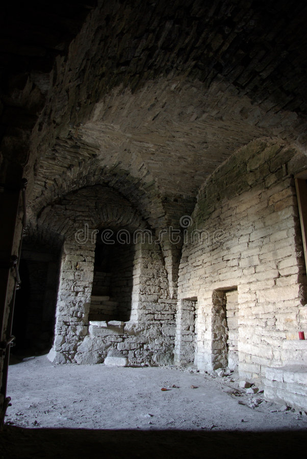 Old Cellar View royalty free stock photography