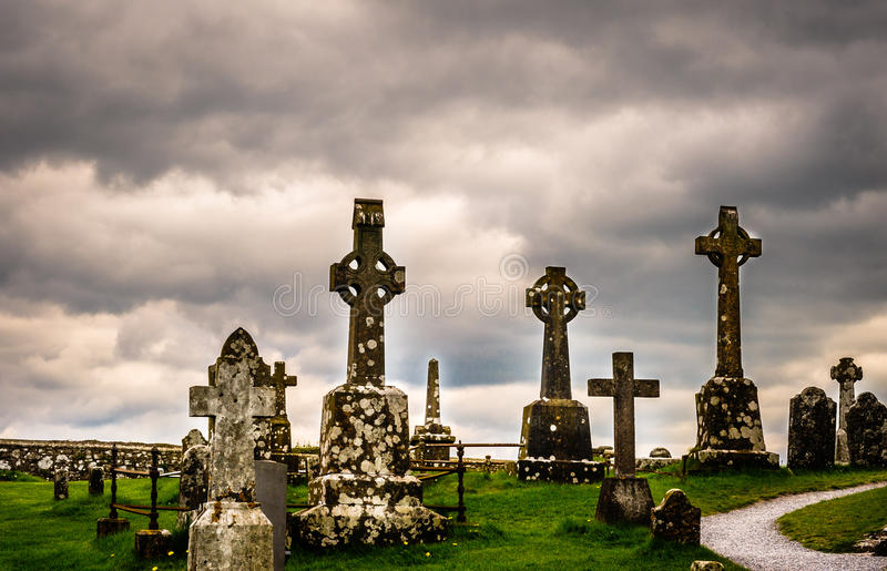Download Old Celtic Cemetery In Ireland Stock Photo - Image: 25795598
