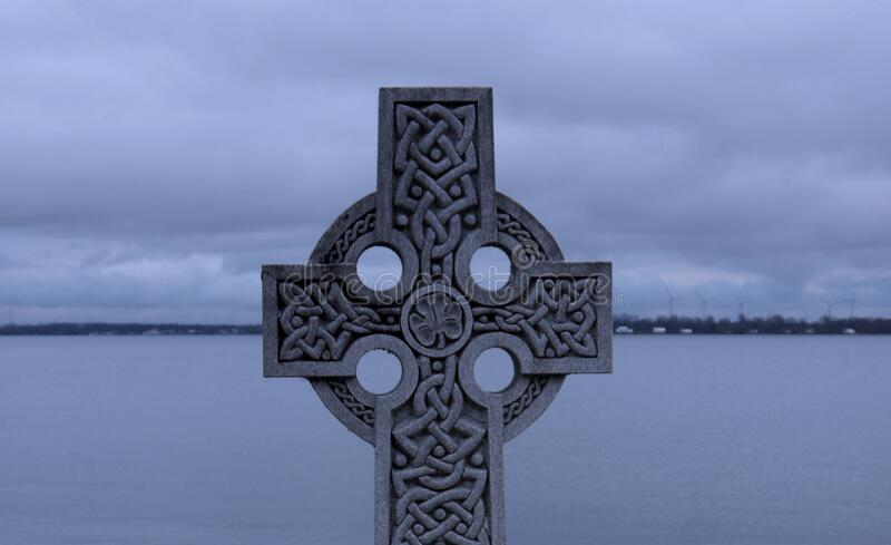 Old Celtic Cross stock images stock photography