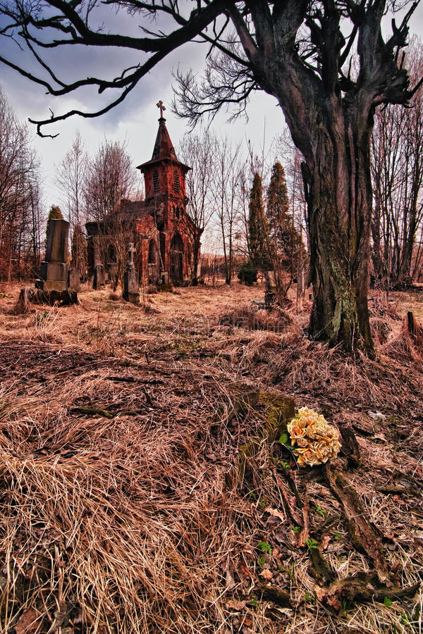 Download Old cemetery stock photo. Image of bone, gravestone, horror - 24361036