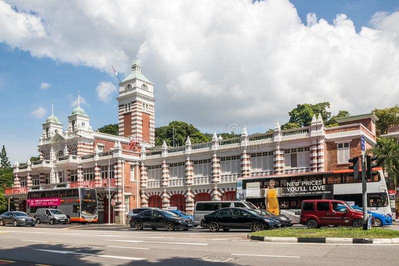 Old Central Fire Station royalty free stock images