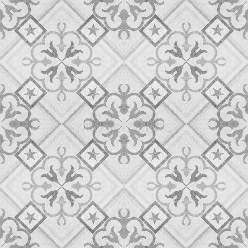 Old ceramic tiles patterns royalty free stock photography