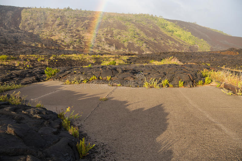 Old Chain of Craters Road stock photos