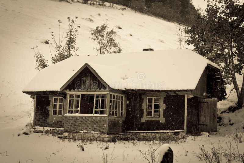 Old Chalet Royalty Free Stock Image