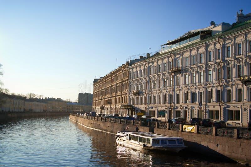 Download Old channel stock image. Image of boat, reflection, landscape - 23641365