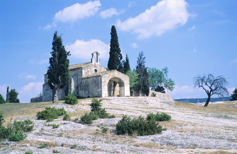 Download Old chapel stock image. Image of provence, monument, pray - 1400923
