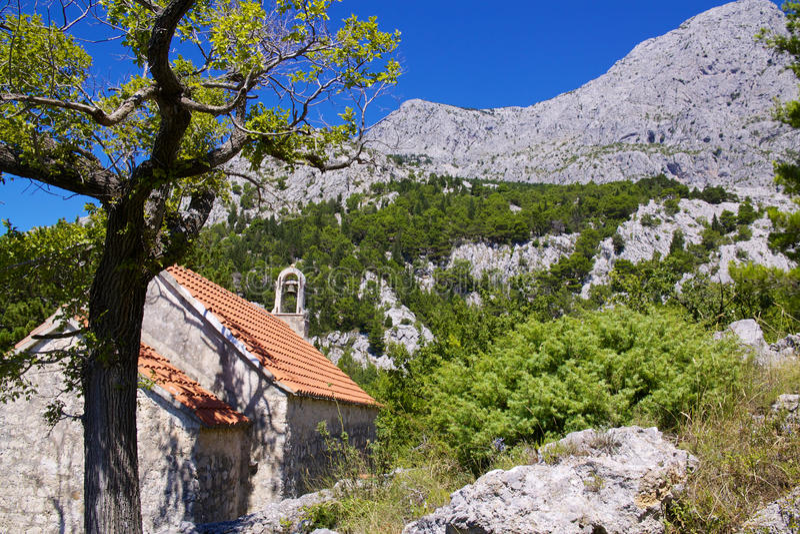 Download Old chapel stock photo. Image of nature, peninsula, christian - 28522482