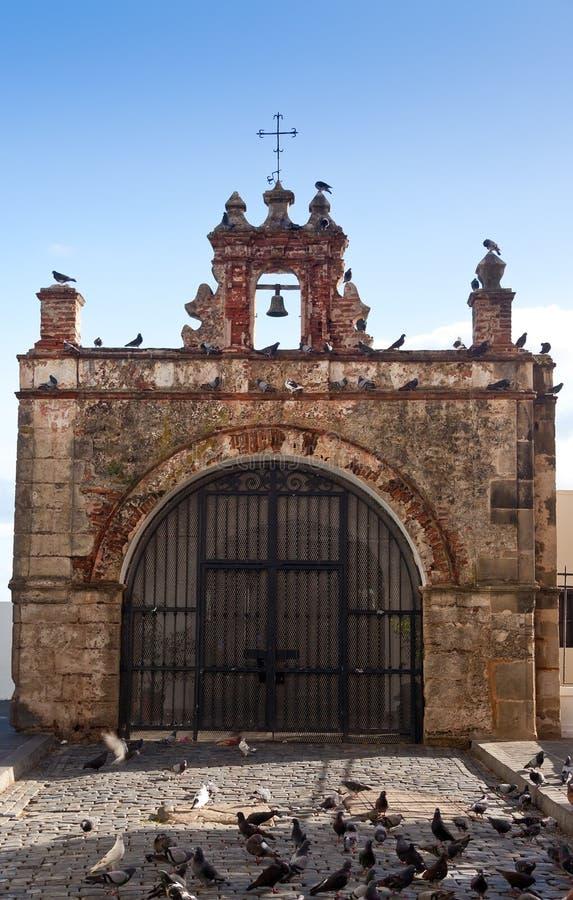 Old Chapel in San Juan, Puerto Rico stock image