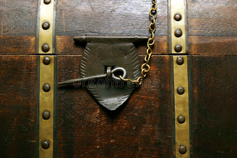 Download Old chest stock image. Image of brown, rivets, treasure - 112757