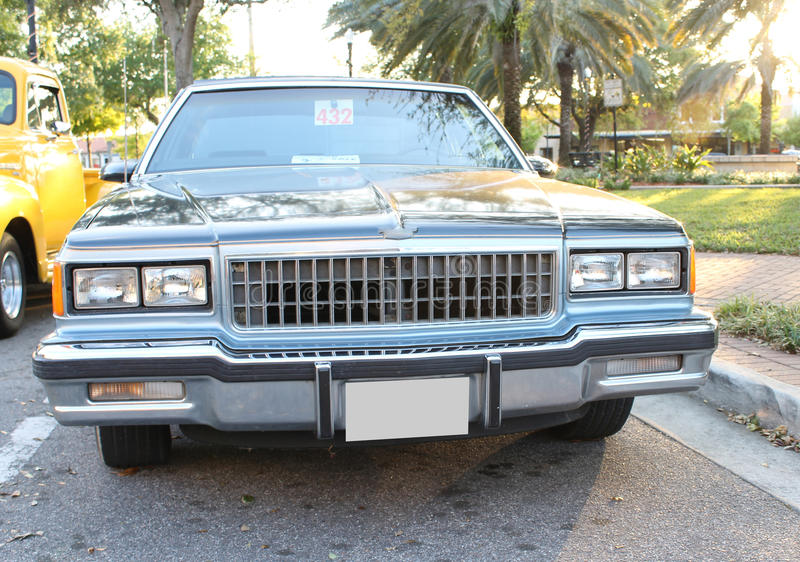 Download Old Chevrolet Brougham Car stock image. Image of auto - 30113691