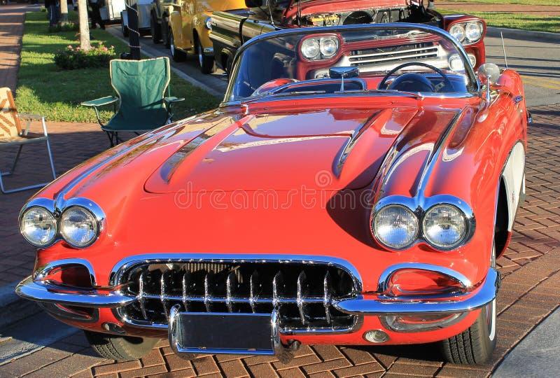 Download Old Chevrolet Corvette Car stock photo. Image of preserve - 29133166