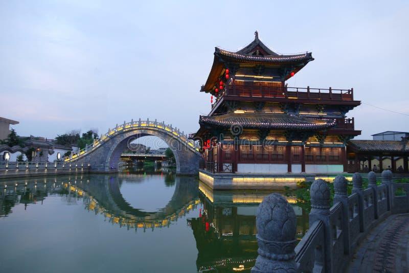 Old China architecture stock photo