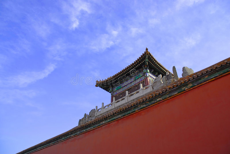 Old china architurecture royalty free stock photography